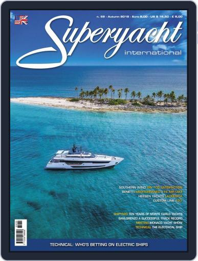 Superyacht International September 1st, 2018 Digital Back Issue Cover