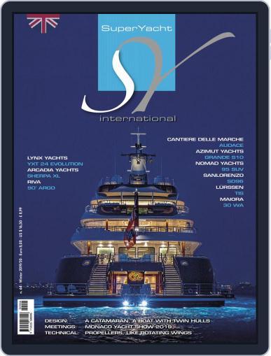 Superyacht International January 1st, 2020 Digital Back Issue Cover