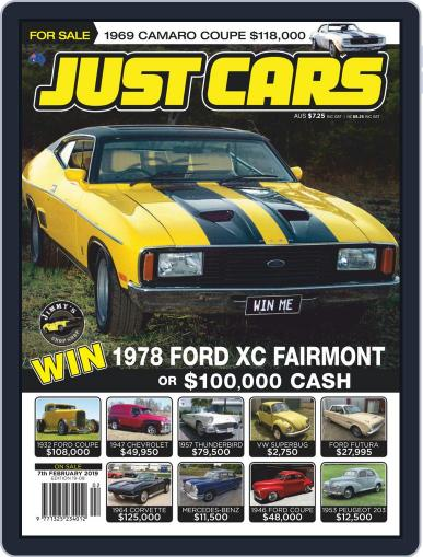 Just Cars January 24th, 2019 Digital Back Issue Cover