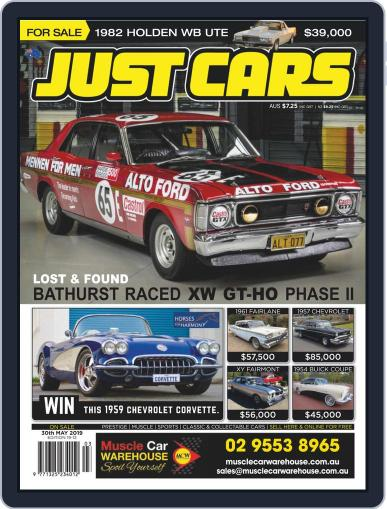 Just Cars May 17th, 2019 Digital Back Issue Cover
