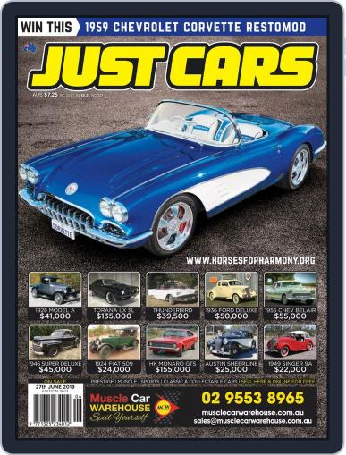 Just Cars June 14th, 2019 Digital Back Issue Cover