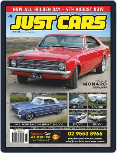 Just Cars July 12th, 2019 Digital Back Issue Cover