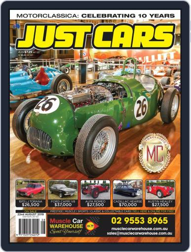 Just Cars August 9th, 2019 Digital Back Issue Cover