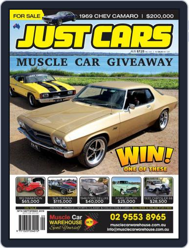 Just Cars September 6th, 2019 Digital Back Issue Cover