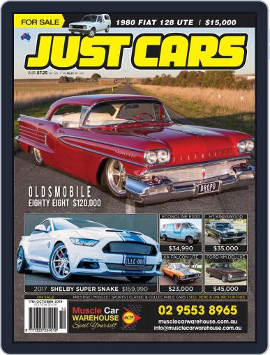 Just Cars October 17th, 2019 Digital Back Issue Cover