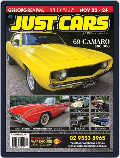 Just Cars November 22nd, 2019 Digital Back Issue Cover