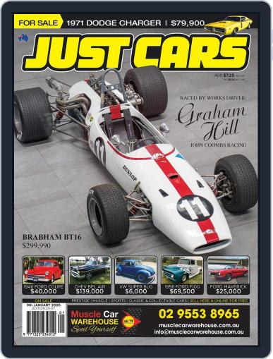 Just Cars December 20th, 2019 Digital Back Issue Cover
