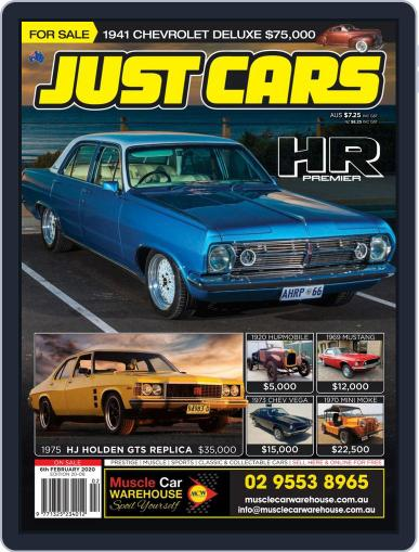 Just Cars February 6th, 2020 Digital Back Issue Cover