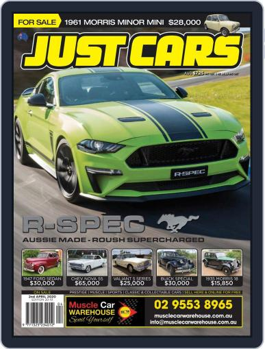 Just Cars March 20th, 2020 Digital Back Issue Cover