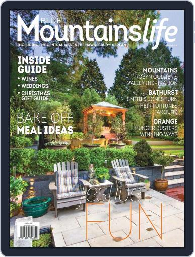 Blue Mountains Life December 1st, 2017 Digital Back Issue Cover