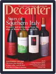 Decanter (Digital) Subscription November 1st, 2019 Issue