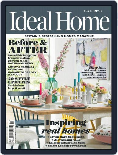 Ideal Home April 1st, 2019 Digital Back Issue Cover