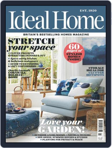 Ideal Home July 1st, 2019 Digital Back Issue Cover
