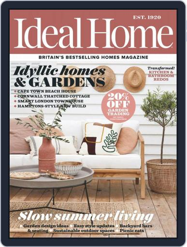 Ideal Home August 1st, 2019 Digital Back Issue Cover