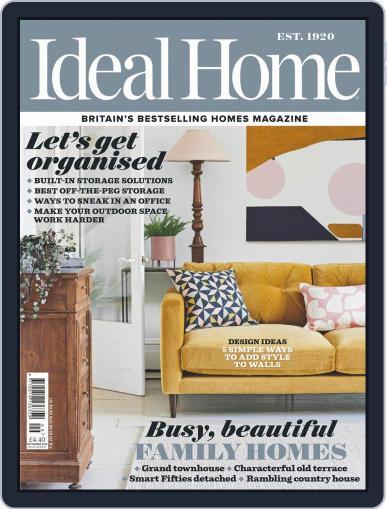 Ideal Home September 1st, 2019 Digital Back Issue Cover
