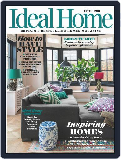 Ideal Home October 1st, 2019 Digital Back Issue Cover