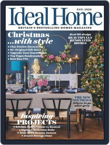 Ideal Home December 1st, 2019 Digital Back Issue Cover
