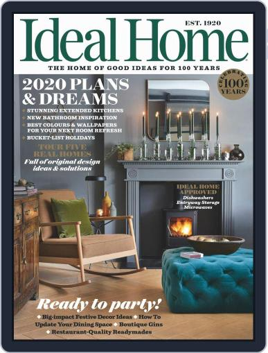 Ideal Home January 1st, 2020 Digital Back Issue Cover