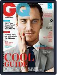 GQ Magazin Deutschland (Digital) Subscription August 9th, 2012 Issue