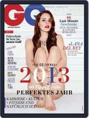 GQ Magazin Deutschland (Digital) Subscription December 5th, 2012 Issue