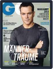 GQ Magazin Deutschland (Digital) Subscription September 12th, 2013 Issue