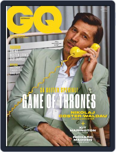GQ Magazin Deutschland March 1st, 2019 Digital Back Issue Cover