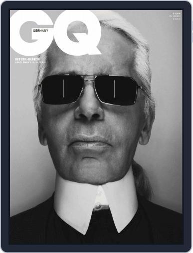 GQ Magazin Deutschland April 1st, 2019 Digital Back Issue Cover