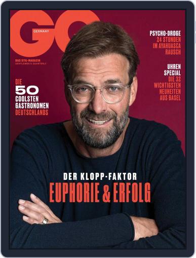 GQ Magazin Deutschland May 1st, 2019 Digital Back Issue Cover