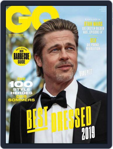 GQ Magazin Deutschland August 1st, 2019 Digital Back Issue Cover