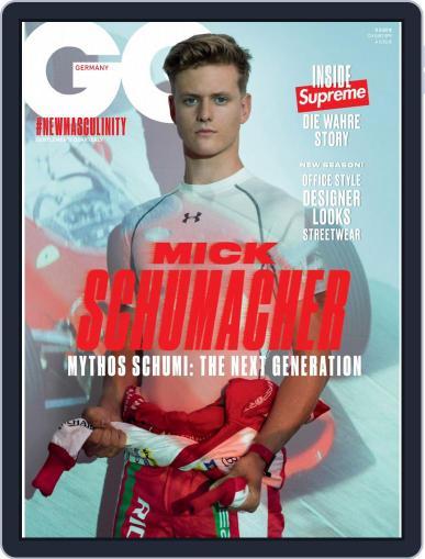 GQ Magazin Deutschland September 1st, 2019 Digital Back Issue Cover