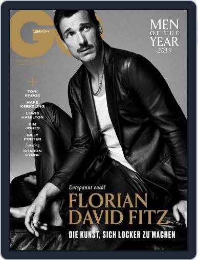 GQ Magazin Deutschland December 1st, 2019 Digital Back Issue Cover