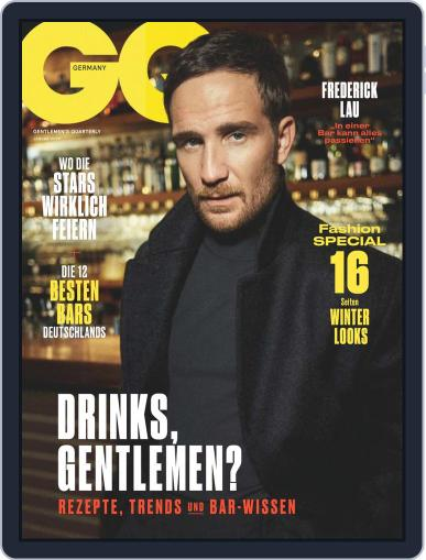 GQ Magazin Deutschland January 1st, 2020 Digital Back Issue Cover