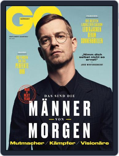 GQ Magazin Deutschland May 1st, 2020 Digital Back Issue Cover