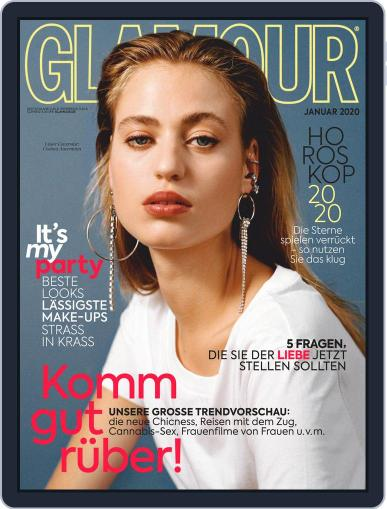 Glamour Magazin Deutschland January 1st, 2020 Digital Back Issue Cover