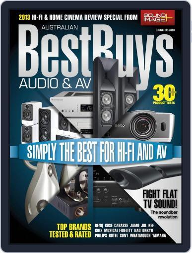 Best Buys – Audio & AV July 25th, 2013 Digital Back Issue Cover