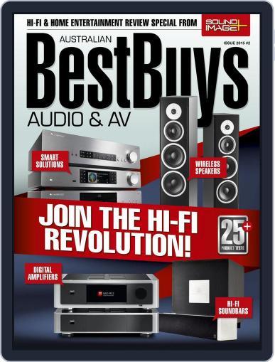 Best Buys – Audio & AV June 1st, 2015 Digital Back Issue Cover