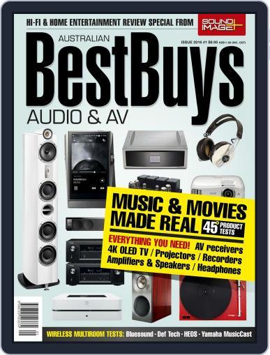 Best Buys – Audio & AV December 2nd, 2015 Digital Back Issue Cover