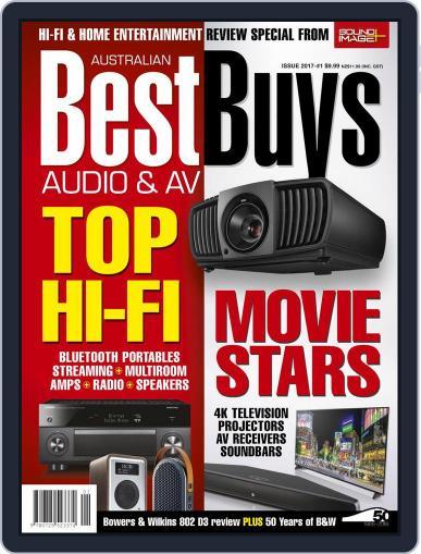Best Buys – Audio & AV January 1st, 2017 Digital Back Issue Cover