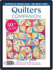 Quilters Companion (Digital) Subscription November 1st, 2018 Issue
