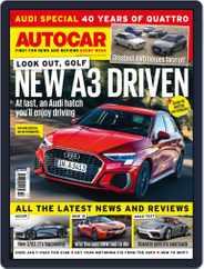 Autocar (Digital) Subscription April 1st, 2020 Issue