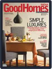 GoodHomes India (Digital) Subscription October 1st, 2019 Issue
