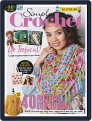 Simply Crochet (Digital) Subscription October 1st, 2019 Issue