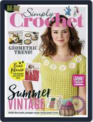 Simply Crochet (Digital) Subscription December 1st, 2019 Issue