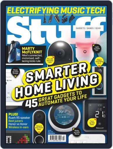 Stuff UK March 1st, 2019 Digital Back Issue Cover