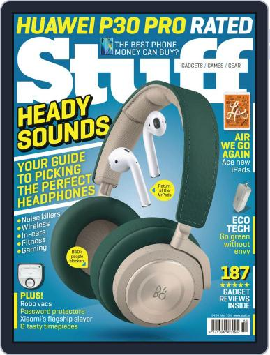 Stuff UK May 1st, 2019 Digital Back Issue Cover