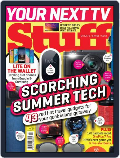 Stuff UK July 1st, 2019 Digital Back Issue Cover