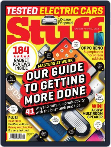 Stuff UK September 1st, 2019 Digital Back Issue Cover
