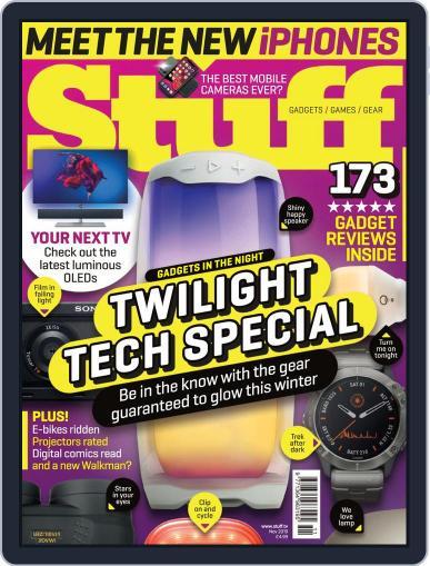 Stuff UK November 1st, 2019 Digital Back Issue Cover