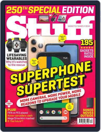 Stuff UK December 1st, 2019 Digital Back Issue Cover