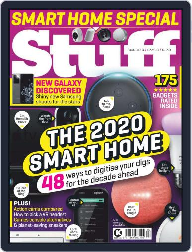 Stuff UK March 1st, 2020 Digital Back Issue Cover